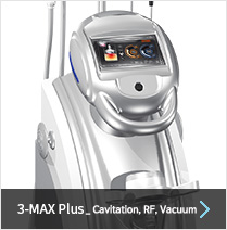 3-MAX Plus_Cavitation,RF,Vacuum