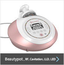Beautypot_RF,Cavitation,LLD,LED