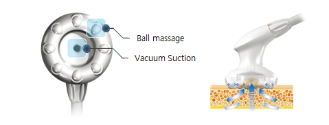 Ball type applicator